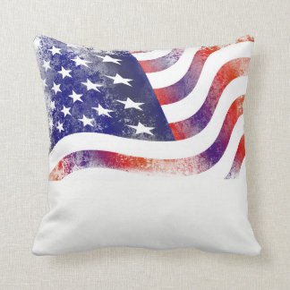 Almohada de tiro de la bandera