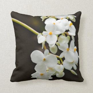 Almohada de tiro de la decoración de la flor