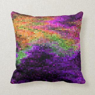 Almohada de tiro de la lentejuela del arco iris