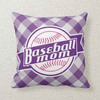 Almohada de tiro de la mamá del béisbol