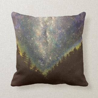 Almohada de tiro de la noche estrellada