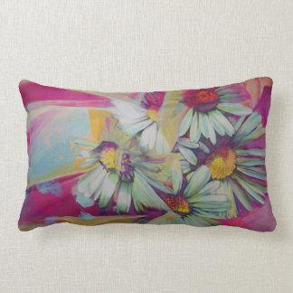 Almohada de tiro de la pintura de la flor de la