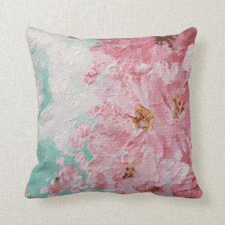Almohada de tiro de las flores de cerezo