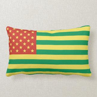 Almohada de tiro de los E.E.U.U. de la bandera de