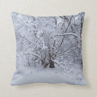 Almohada de tiro de maderas Nevado