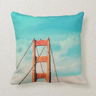 Almohada de tiro de puente Golden Gate del estilo
