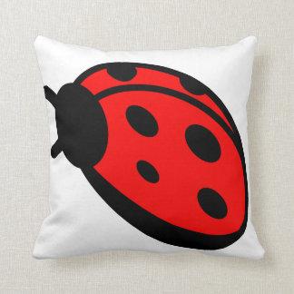 Almohada de tiro de señora Bug