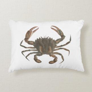 Almohada de tiro de señora cangrejo de Newport