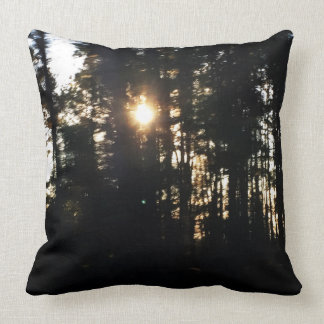 Cojín Decorativo Almohada de tiro del algodón de Forrest 20x20