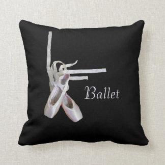 """Almohada de tiro del """"ballet"""""""