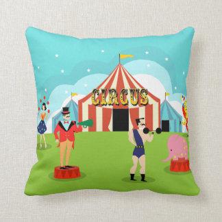 Almohada de tiro del circo del vintage