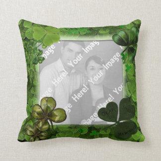 Cojín Decorativo Almohada de tiro del día de St Patrick de la foto