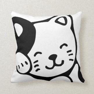 Almohada de tiro del gatito