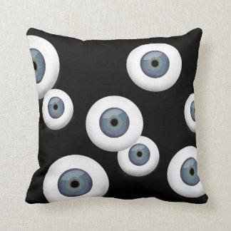 Almohada de tiro del globo del ojo del arte pop