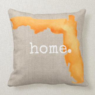 Almohada de tiro del hogar el | de la Florida de