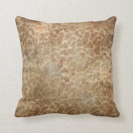 Almohada de tiro del modelo de la piel de la jiraf