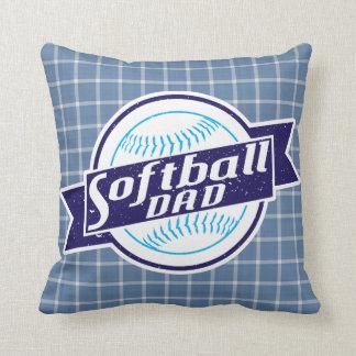 Almohada de tiro del papá del softball