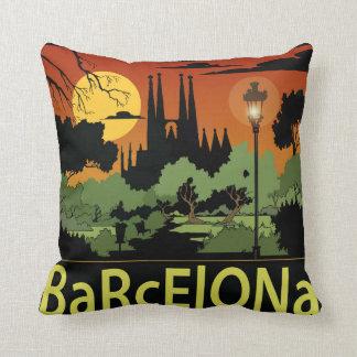 "Almohada de tiro del poliéster de Barcelona 16"" x"