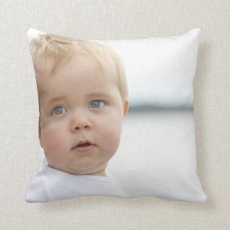 Almohada de tiro del poliéster del bebé, almohada