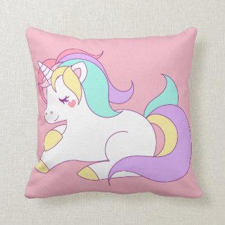 Almohada de tiro del unicornio