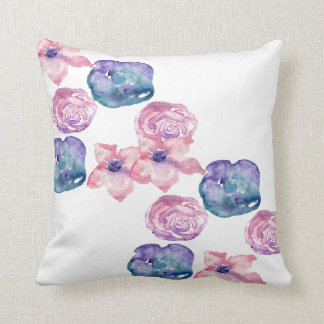 Almohada de tiro floral bonita