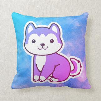 Almohada de tiro fornida colorida del perro de