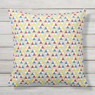 Almohada de tiro hexagonal de las pelotas de playa