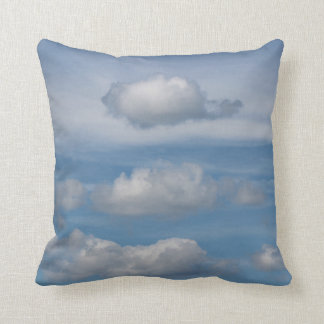 "Almohada de tiro magnífica ""paz en las nubes """