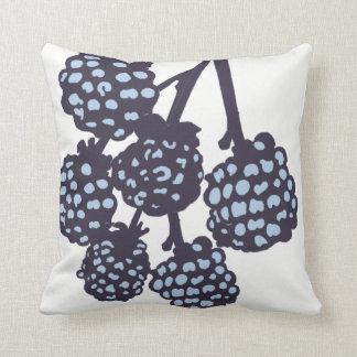 Almohada de tiro moderna azul del flor Decor#8a de