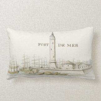 Almohada de tiro náutica de la decoración de Port