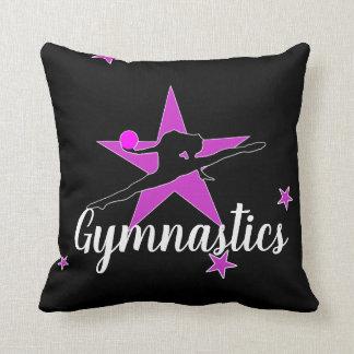 Almohada de tiro personalizada de la gimnasia