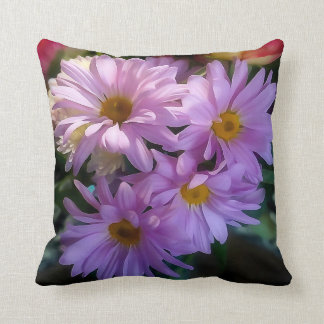 Almohada de tiro púrpura de la flor de la