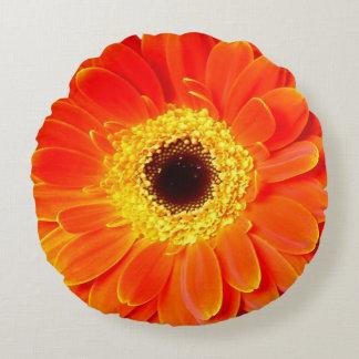 almohada de tiro redonda de la flor de la