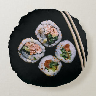 Almohada de tiro reversible del sushi