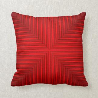 Almohada de tiro roja