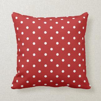 Almohada de tiro roja de la decoración del hogar
