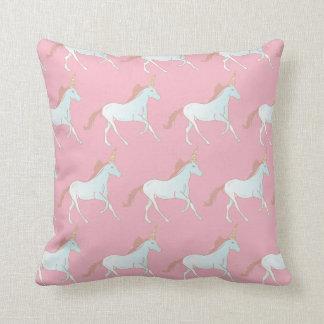 Almohada de tiro rosada y azul del modelo de los