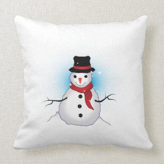Almohada de tiro Snowman2