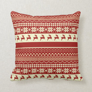 Almohada de tiro - suéter feo del navidad