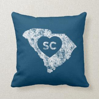 Almohada de tiro usada del estado de Carolina del