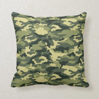 Almohada de tiro verde del modelo del camuflaje