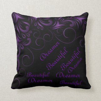 Almohada decorativa del soñador hermoso