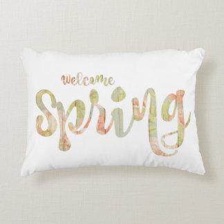 "Almohada del acento de la ""primavera agradable"""
