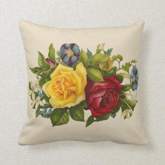 Almohada del acento de los rosas del Victorian