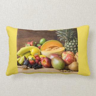 Almohada del acento del relevo de la fruta