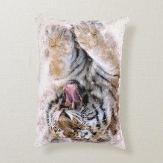 Almohada del acento del tigre del rugido