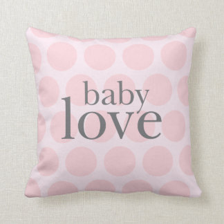 almohada del amor del bebé
