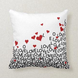 Almohada del amor del el día de San Valentín