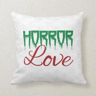 Almohada del amor del horror