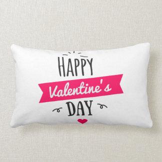 Almohada del amor para el el día de San Valentín